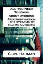 All You Need to Know about Avoiding Procrastination