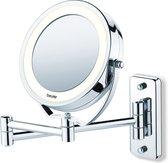 Beurer BS59 Spiegel met Ringverlichting - Make-upspiegel met Muurmontage - Ø11cm