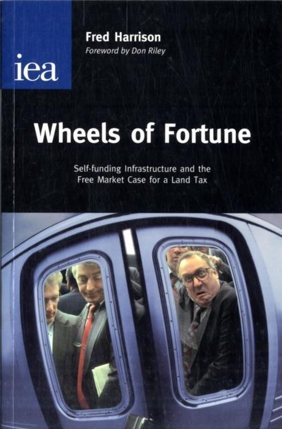 Boek cover Wheels of Fortune van Fred Harrison (Paperback)