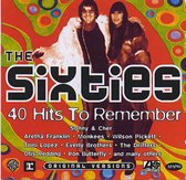 The Sixties - 40 Hits To Remember - Original Atlantic, Warner & Stax Versions - 2CD's