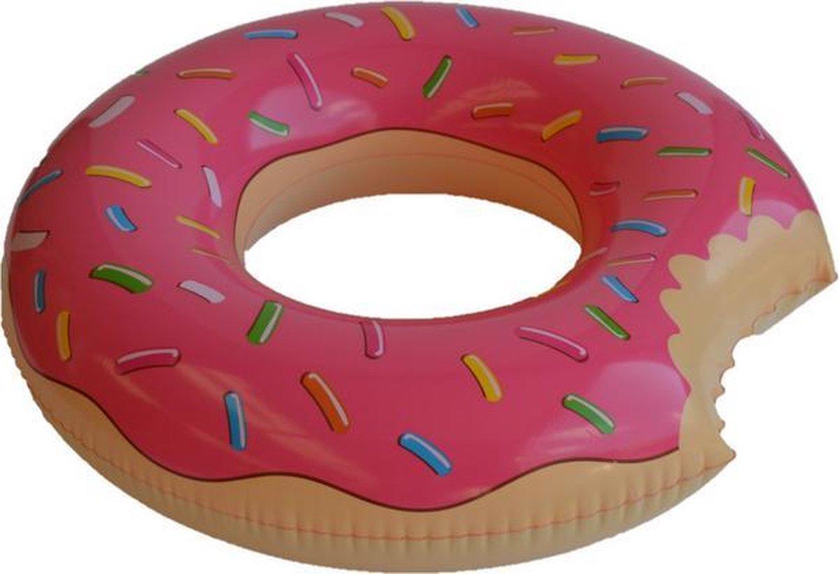 Opblaasbare Donut Zwemring Pink - Ø90cm - Blue Wave