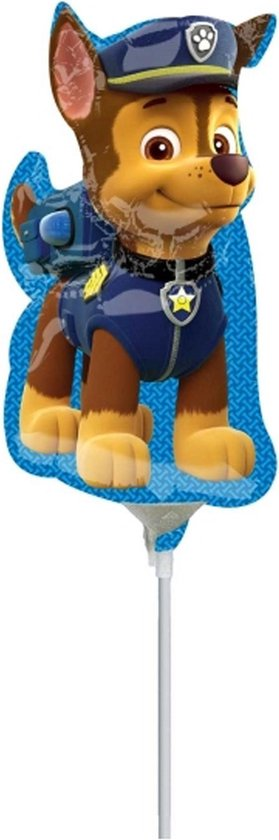 Paw Patrol Folie Ballon Chase Mini 36cm