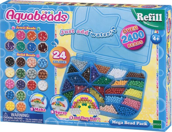 Aquabeads Mega Parelpakket - Hobbypakket