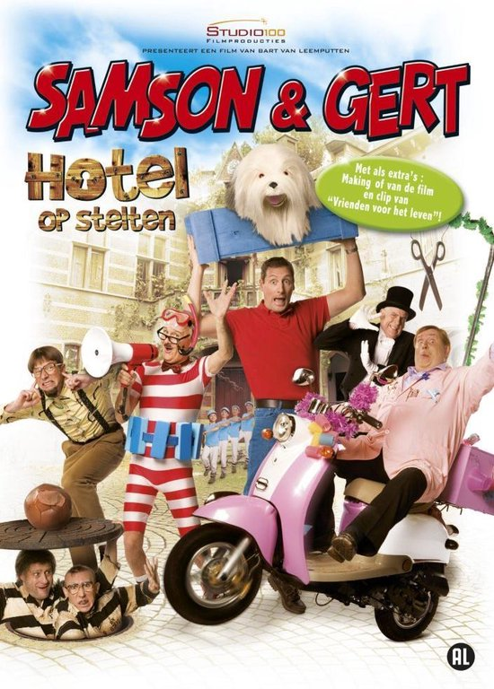 Cover van de film 'Samson & Gert: Hotel Op Stelten'