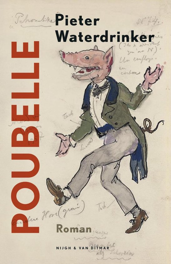 Boek cover Poubelle van Pieter Waterdrinker (Onbekend)