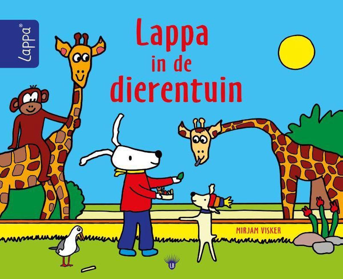 LAPPA® kinderboeken - Lappa in de dierentuin