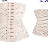 Saizi beige /Waist Trainer - XXL - Buik Korset Belt - Body Shaper Trimmer Corset Band - Shapewear