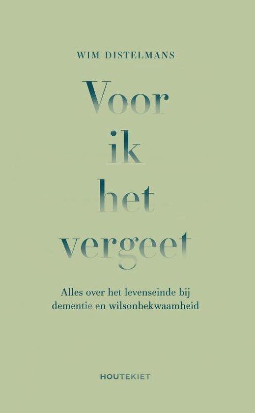 Boek cover Voor ik het vergeet van Wim Distelmans (Paperback)