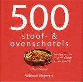 Boek cover 500 stoof- & ovenschotels van Rebecca Baugniet (Hardcover)