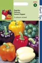 Hortitops Zaden - Paprika 5 Kleuren