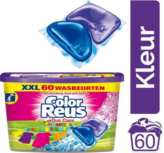 Color Reus Duo-Caps Wasmiddel Capsules - Voordeelverpakking - 60 wasbeurten