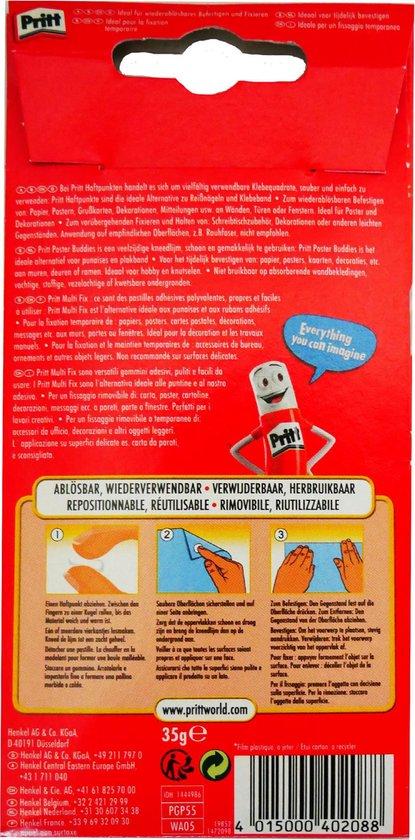 Pritt Kneedlijm Poster Buddies - 55 Stuks