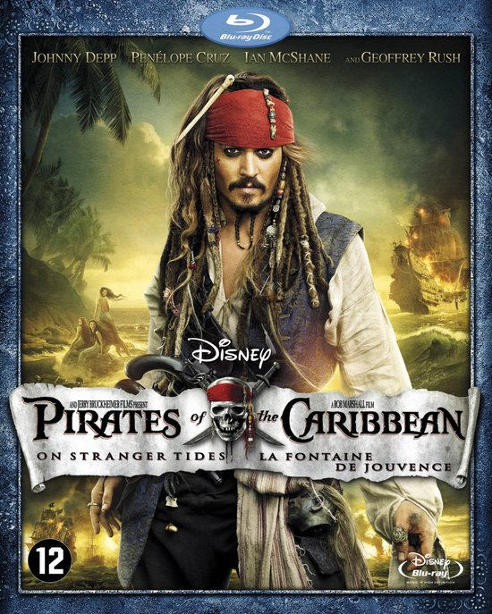 Pirates of the Caribbean: On Stranger Tides (Blu-ray)