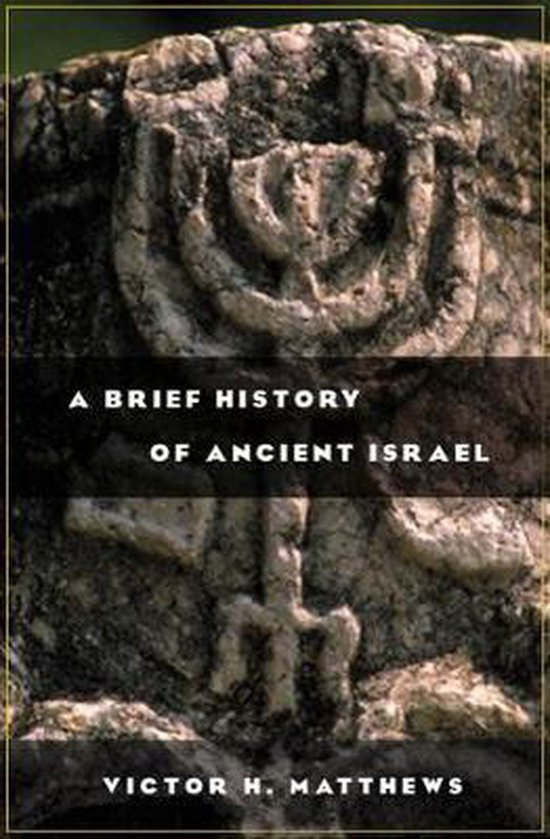 Boek cover A Brief History of Ancient Israel van Victor Harold Matthews (Paperback)