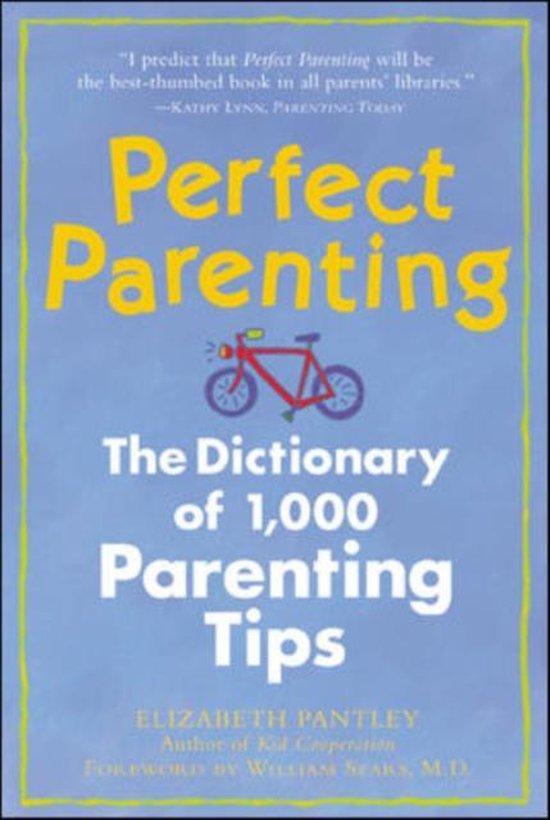 Boek cover Perfect Parenting van Elizabeth Pantley (Paperback)