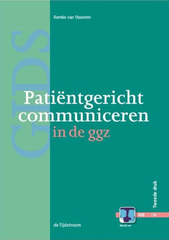Patiëntgericht communiceren in de ggz
