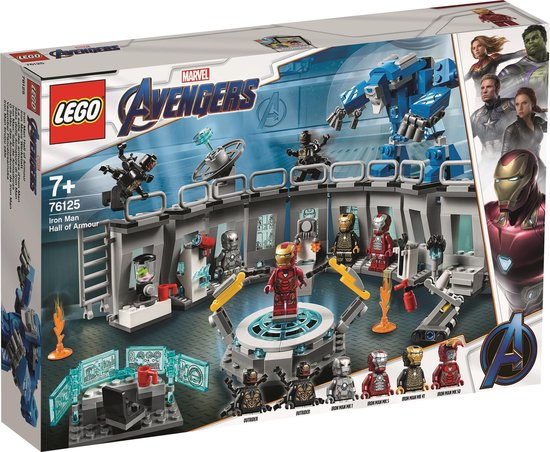 LEGO Super Heroes - Iron Man Hall of Armor (76125)