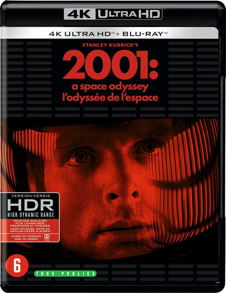 2001: A Space Odyssey (4K Ultra HD Blu-ray)-