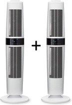 Clean Air Optima® 2 stuks CA-406W - Design Tower Ventilator