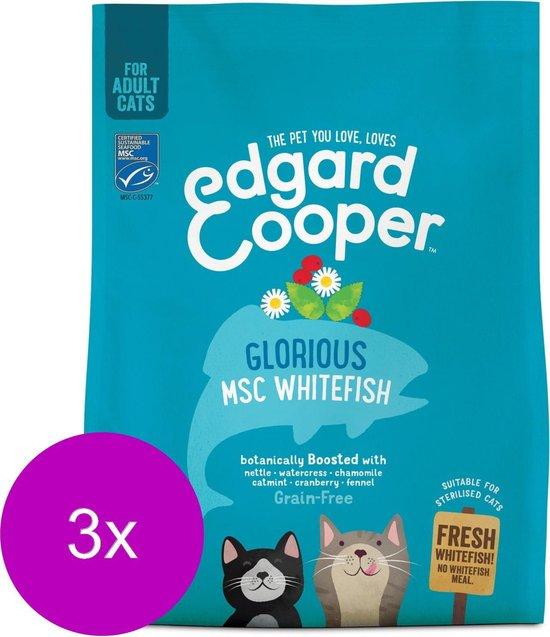 Edgard & Cooper Verse MSC-witvis Brok - 3 x 300g