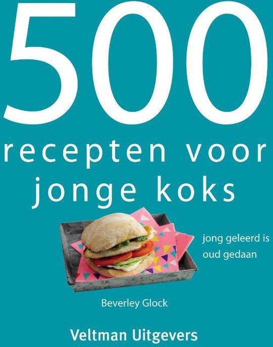 Afbeelding van 500 recepten voor jonge koks speelgoed