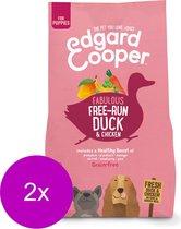 Edgard & Cooper Verse Scharreleend & kip Brok - Voor puppy's - Hondenvoer - 2 x 2.5kg