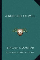 A Brief Life of Paul