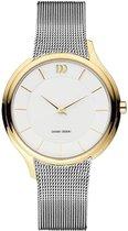 Danish Design IV65Q1194 horloge dames - zilver - edelstaal doubl�