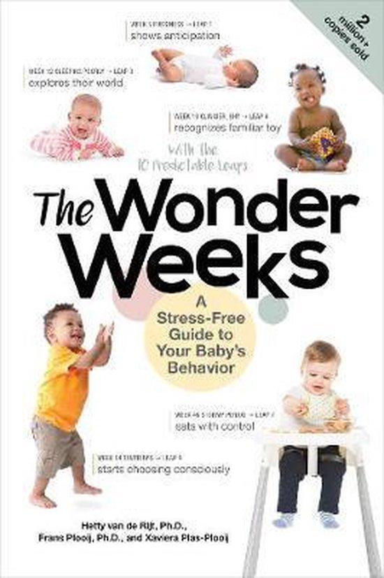 Boek cover The Wonder Weeks : A Stress-Free Guide to Your Babys Behavior van Xaviera Plooij (Paperback)