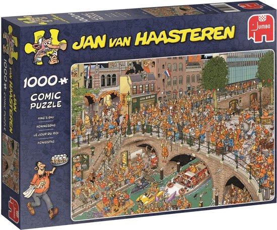 Afbeelding van Jan van Haasteren Koningsdag Puzzel 1000 Stukjes