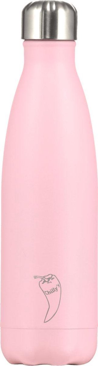 Chilly's Bottle Drink- & Thermosfles Pastel Roze - Chilly's Bottles