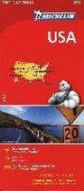 Michelin Nationalkarte USA 1 : 3 450 000
