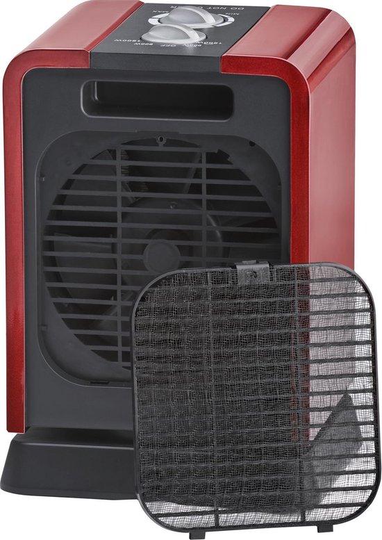 Steba KH2 - Keramische verwarming - 1500W - Rood