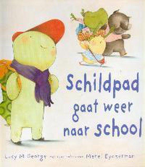 Schildpad gaat weer naar school - Lucy M. George   Readingchampions.org.uk