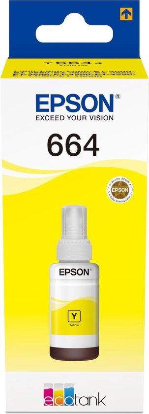 Epson T6641 EcoTank Geel inkt fles - Epson