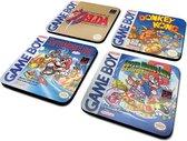 Nintendo Gameboy Classic Collection Coaster Set