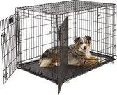 Hondenbench Sam - Zwart - L - 109 x 70 x 77 cm