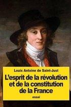 L'Esprit de la R volution Et de la Constitution de la France