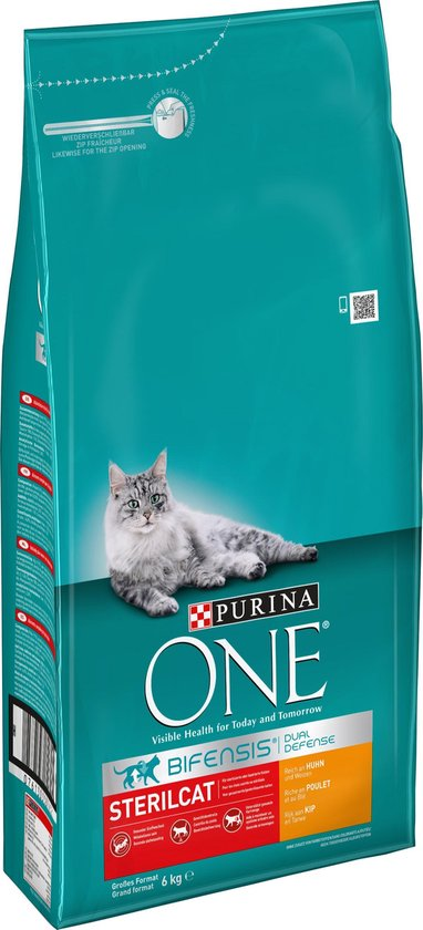 Purina One Sterilcat Kip - Tarwe 6 kg