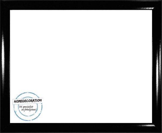Homedecoration Colorado – Fotolijst – Fotomaat – 49 x 84 cm – Hoogglans zwart