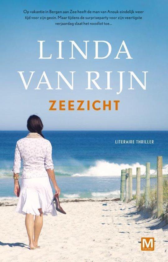 Boek cover Zeezicht van Linda van Rijn (Paperback)