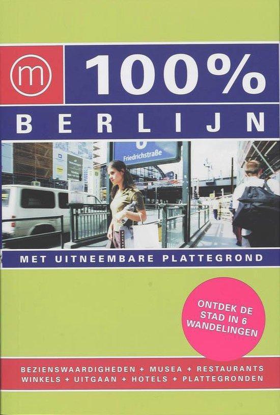 Cover van het boek '100% Berlijn' van L. Kraaijo