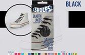 Shoeps Elastische veter zwart