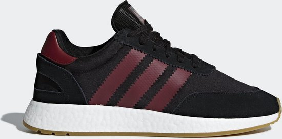 adidas I-5923 Sneakers Heren - Core Black / Collegiate Burgundy / Cloud  White