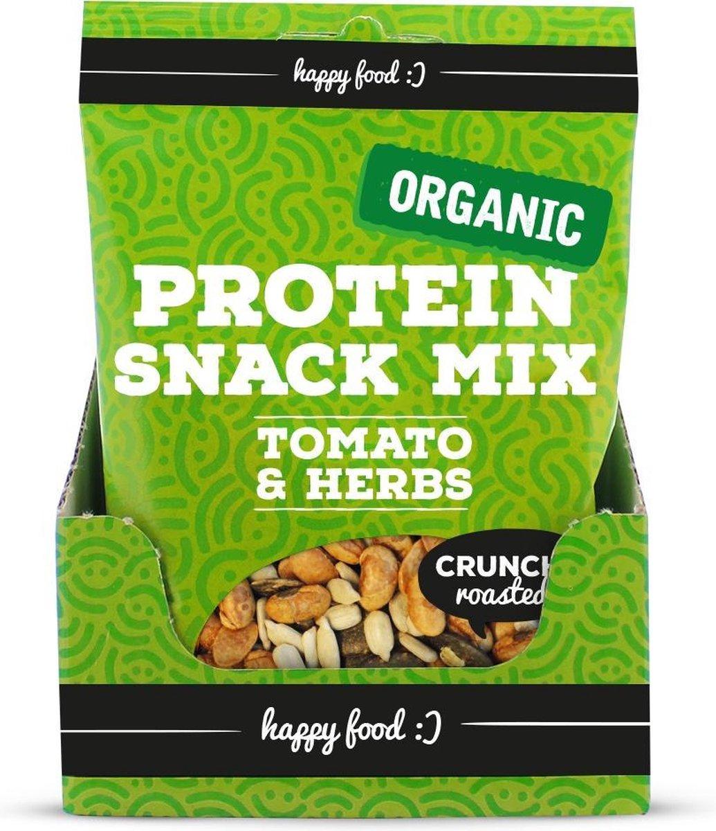 Body & Fit Organic Protein Snack Mix Bio - 1 zakje - Tomato & Herbs - Body & Fit Organic