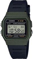Casio F-91WM-3AEF - Horloge - Zwart
