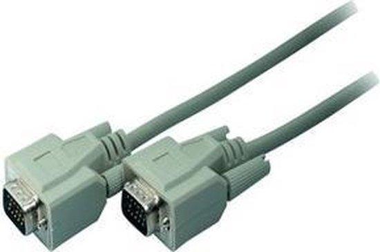S-Conn 3m VGA VGA kabel VGA (D-Sub) Grijs