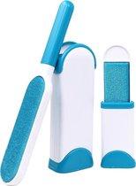 Huisdierhaar verwijderaar Stof verwijderaar - Pluizenborstel met extra mini pluizen borstel