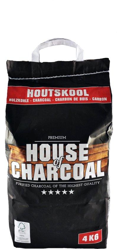 House of Charcoal Premium Houtskool - 4 kg - FSC