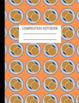 Composition Notebook Waffles